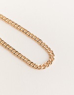 Sammie Necklace - Gold Chain Necklace - Women's Necklace - Charcoal Clothing