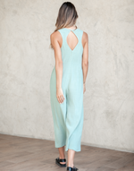 Toffee Jumpsuit (Green) - Green Jumpsuit Romper - Women's Jumpsuit - Charcoal Clothing
