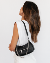 Kaylee Playsuit - White Playsuit Romper - Women's Playsuit - Charcoal Clothing