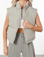 Kiki Playsuit (White) - White Button-Up Playsuit Romper - Women's Playsuit - Charcoal Clothing