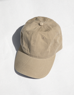 Cool Girl Cap (Brown) - Light Brown Sports Cap - Women's Hat - Charcoal Clothing