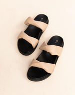 Zonya Slides (Cashew) by Billini - Charcoal Clothing - Women's Shoes - Charcoal Clothing