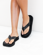 Yogi Sandals (Black) by Billini - Charcoal Clothing - Women's Shoes - Charcoal Clothing