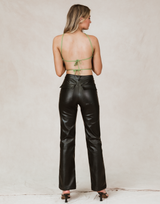 Kayden Trousers by 4th & Reckless - Charcoal Clothing - Women's Pants - Charcoal Clothing