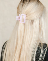 Baby Clip (Lilac) - Lilac Hair Clip - Women's Hair - Charcoal Clothing