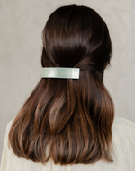 Summer Clip (Sage) - Sage Green Hair Clip - Women's Hair - Charcoal Clothing