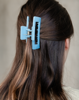 Marissa Clip (Blue) - Blue Hair Clip - Women's Hair - Charcoal Clothing