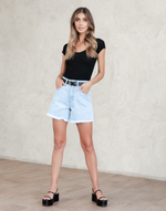 - Women's Shorts - Charcoal Clothing