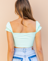 Soul Driver Crop Top (Neon Green)