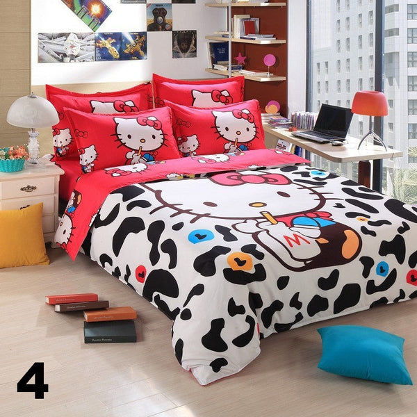 Hello kitty bedding sets hello kitty online store for Housse de voiture hello kitty