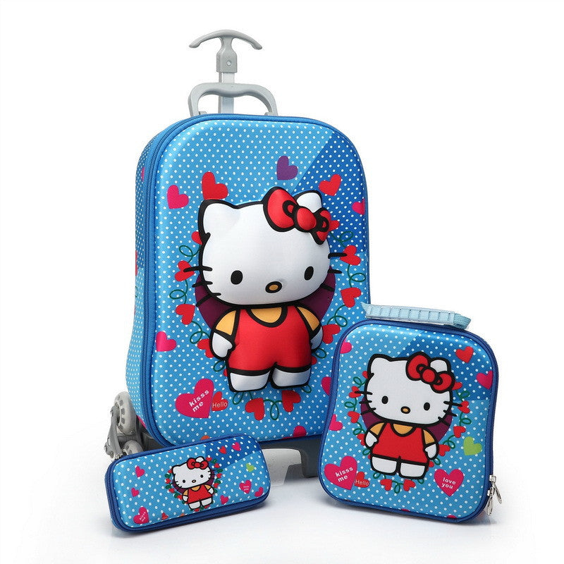 Hello Kitty Travel Luggage 3Pcs Suit