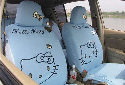 Hello Kitty Blue Car seats cover set