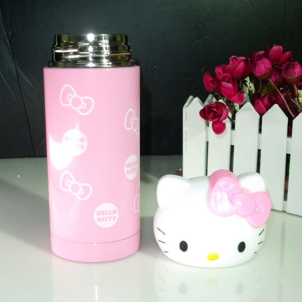Hello Kitty 3D Kitty Head Thermos Vacuum Cup