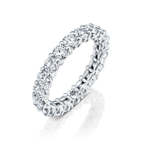 Classic Engagement Ring by DANA ARISH; Diamond & Gold, Infinity Symbol by DANA ARISH
