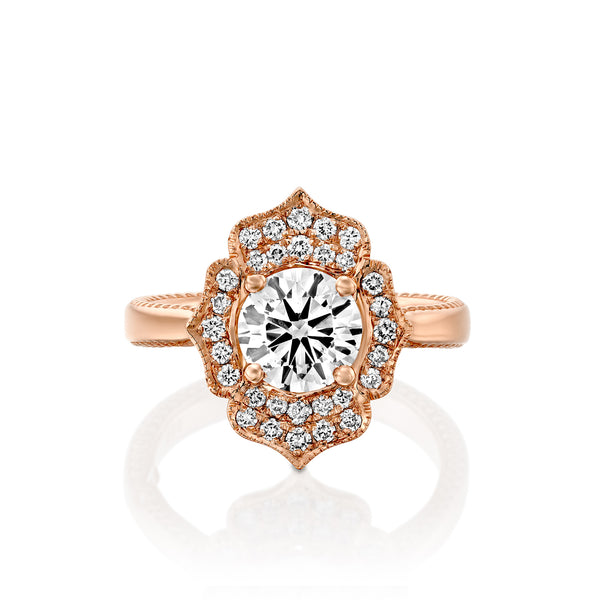 Charlotte Ring - Oval Diamond & Gold Engagement Ring by DANA ARISH