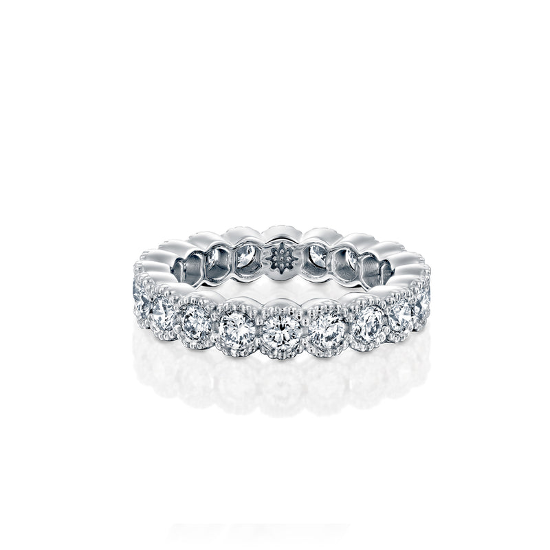 Bubbles  Ring - White Gold & Diamond Ring by DANA ARISH