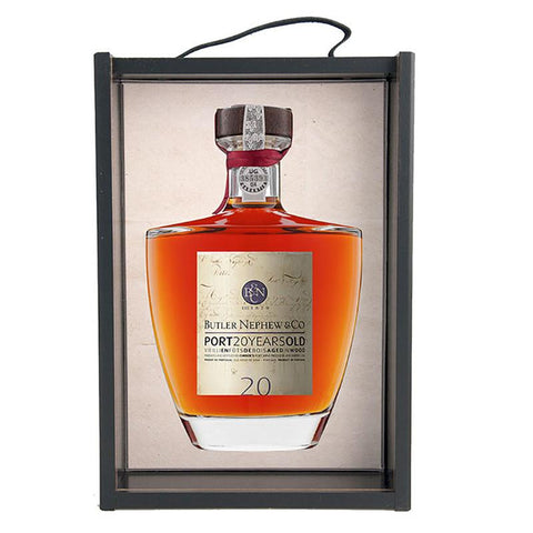 Butler Nephew 20 Years Decanter Tawny Limited edition Portvin
