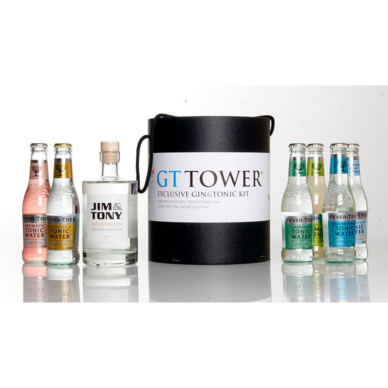 Gin & tonic tower tasting kit