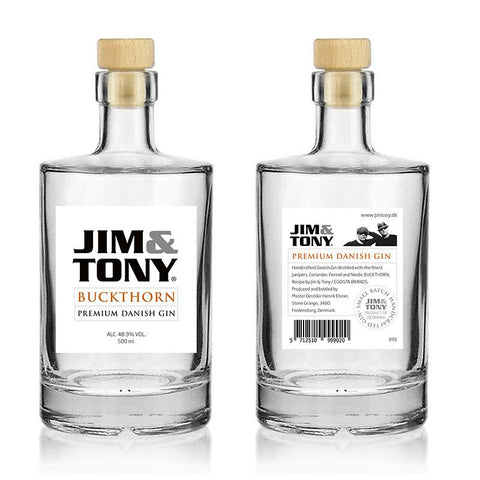 Jim & Tony Gin - Buckthorn 50 cl. 48,9%
