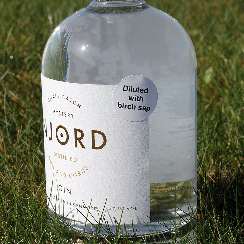 Njord Gin Birch Sap - Sun and Citrus