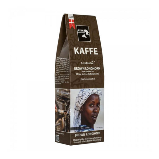 Farm Mountain Brown Longhorn kaffe espresso