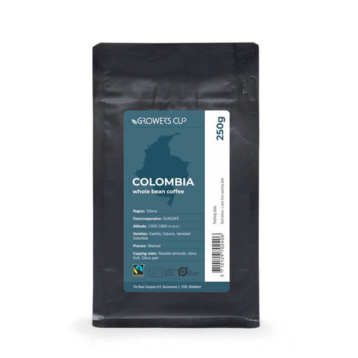 Growers cup økologiske kaffebønner colombia