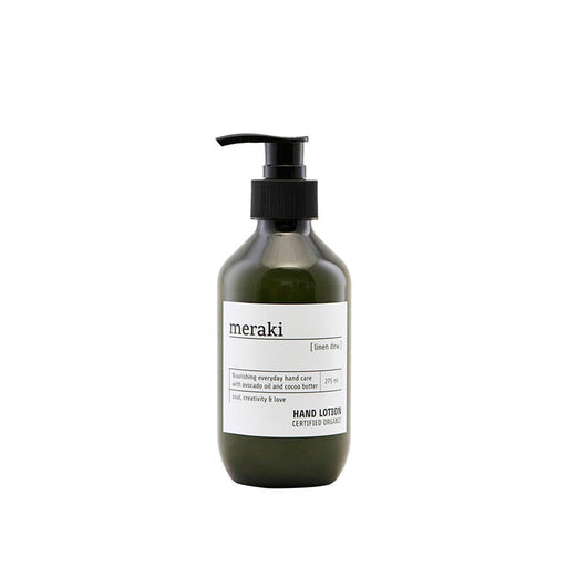 meraki linen dew hand lotion håndlotion