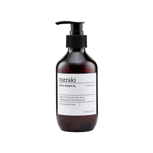 meraki velvet mood bath shower oil