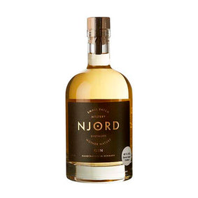 Njord - Distilled Mother Nature Barrel Aged, 50 cl.