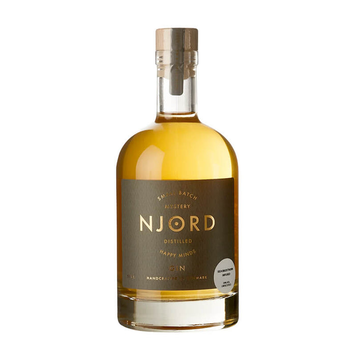 Njord Gin Happy Minds Sea Buckthorn Infused