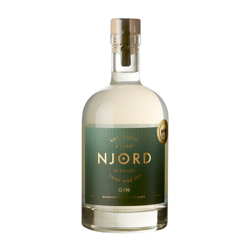 Njord Gin SAnd SEa Amber rav infused
