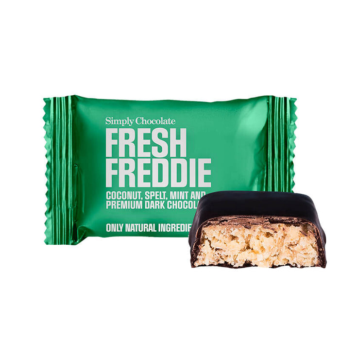 Simply chocolate fresh freddie mini bar