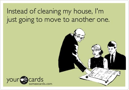 A Little Post Holiday House-Cleaning