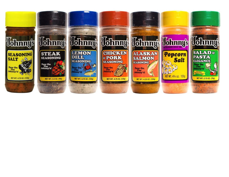 Your Search for Johnny's Seasoning Salt is Over