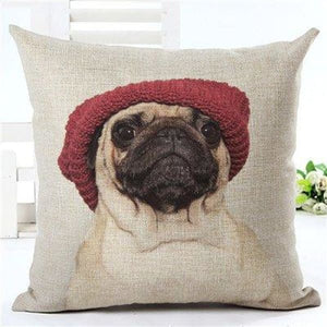 Animal Decorative Pillow Case - 450mm*450mm / 2435b - pillow case
