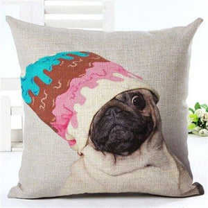 Animal Decorative Pillow Case - 450mm*450mm / 2435e - pillow case