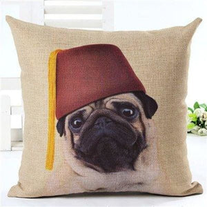 Animal Decorative Pillow Case - 450mm*450mm / 2435f - pillow case