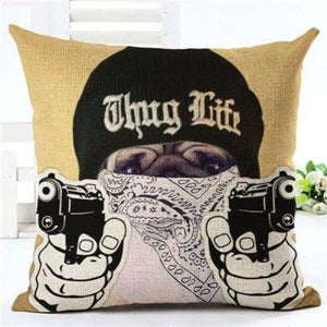 Animal Decorative Pillow Case - 450mm*450mm / 2435h - pillow case