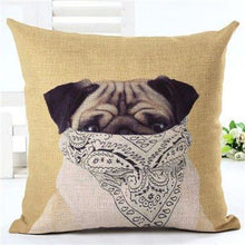 Load image into Gallery viewer, Animal Decorative Pillow Case - 450mm*450mm / 2435i - pillow case