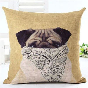 Animal Decorative Pillow Case - 450mm*450mm / 2435i - pillow case