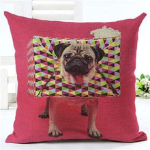 Load image into Gallery viewer, Animal Decorative Pillow Case - 450mm*450mm / 2435m - pillow case