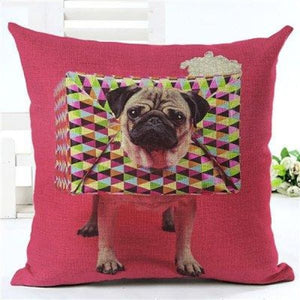 Animal Decorative Pillow Case - 450mm*450mm / 2435m - pillow case