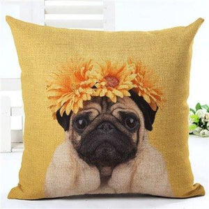 Animal Decorative Pillow Case - 450mm*450mm / 2435n - pillow case