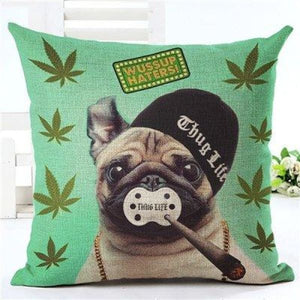 Animal Decorative Pillow Case - 450mm*450mm / 2435o - pillow case