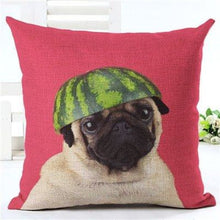 Load image into Gallery viewer, Animal Decorative Pillow Case - 450mm*450mm / 2435p - pillow case