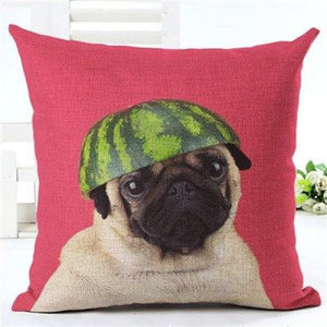 Animal Decorative Pillow Case - 450mm*450mm / 2435p - pillow case