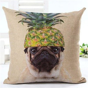 Animal Decorative Pillow Case - 450mm*450mm / 2435q - pillow case
