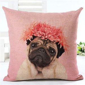 Animal Decorative Pillow Case - 450mm*450mm / 2435s - pillow case