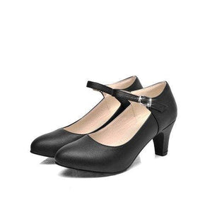 Autumn Pointed Toe Shoes - Black / 4 - shoes