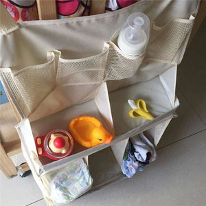 Baby Bed Diaper Hanging Multi-Functional Organizer - Baby Storage